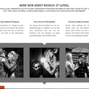 Rough and Loyal wordpress agentur koeln