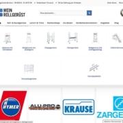 MeinRollgerüst Mega Menü Wordpress Köln